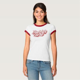 Camiseta T da menina de Zaddy
