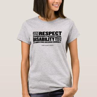 Camiseta T da nuvem da palavra da ARESTA