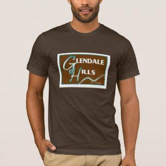 Camiseta T da obscuridade das colinas de Glendale