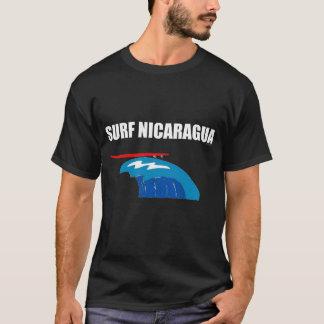 CAMISETA T DA OBSCURIDADE DE NICARÁGUA DO SURF