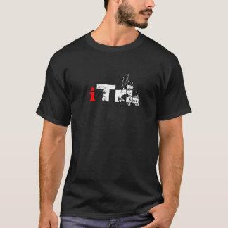 Camiseta T da obscuridade do iTri