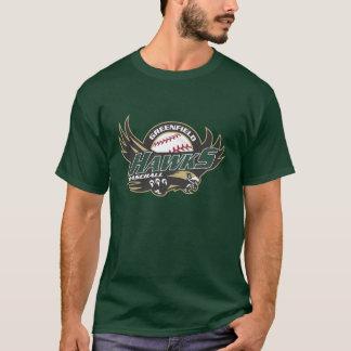 Camiseta T da obscuridade dos homens
