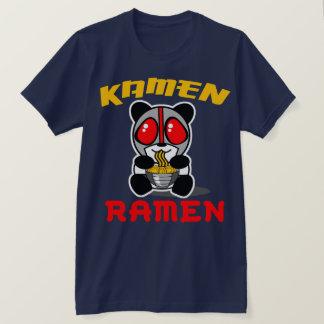 Camiseta T da panda dos Ramen de Kamen