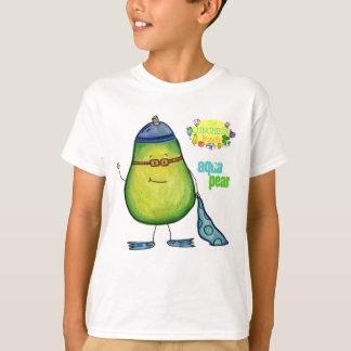 Camiseta T da pera do Aqua