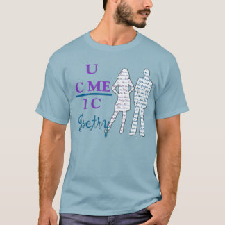 Camiseta T da poesia de UCMEIC (uvas de Jordão do ar dos