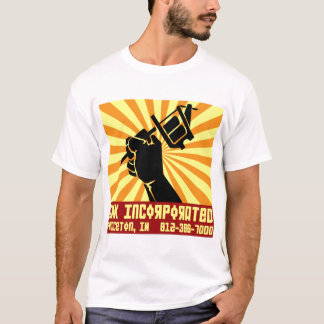 Camiseta T da propaganda do Inc da TINTA