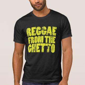 Camiseta T da reggae do gueto - vintage
