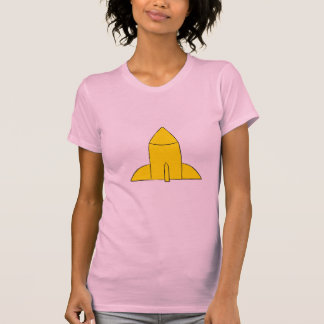 Camiseta T da reminiscência dos desenhos animados do poder