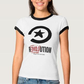 Camiseta T da revolução das mulheres