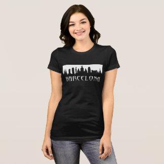 Camiseta T da skyline de Barcelona