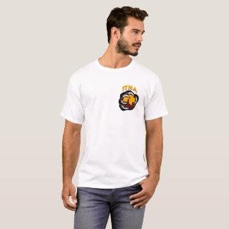 Camiseta T da skyline de Pike Chicago