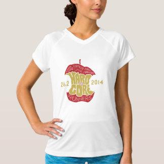 Camiseta T da tecnologia das mulheres dos corredores do
