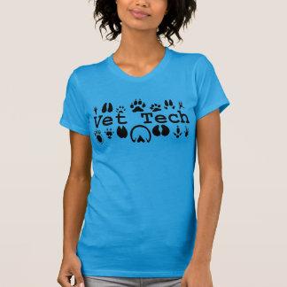 Camiseta T da tecnologia do veterinário