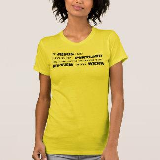 Camiseta T da teologia do bar