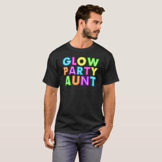 Camiseta T da tia -01Gift do partido do fulgor