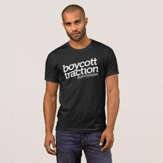 Camiseta T da tração do boicote