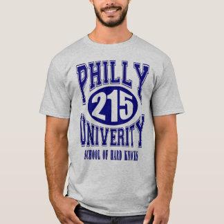 Camiseta T da universidade de Philly