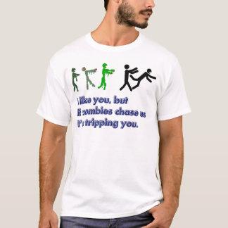 Camiseta T da viagem dos zombis