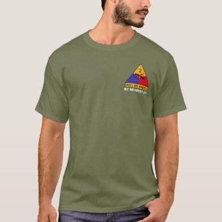 Camiseta T da viatura de combate da infantaria do M2