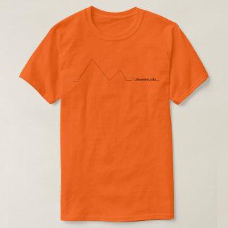 Camiseta T da vida da montanha