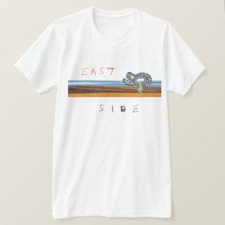 Camiseta T da zona leste