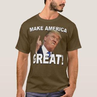 Camiseta T das armas nucleares do trunfo