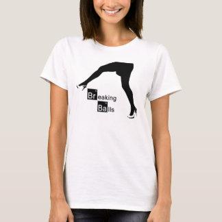 Camiseta T das bolas de desempate