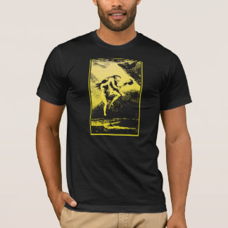 Camiseta T das bruxas de Goya