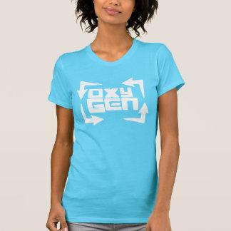 """Camiseta T das """"citações"""" das mulheres do oxigênio - edição"""
