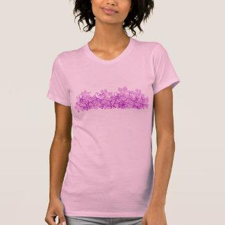 Camiseta T das senhoras da ilha da orquídea