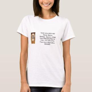 Camiseta T das senhoras de Barron