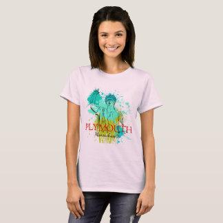 Camiseta T das senhoras do Splatter das ascendências de