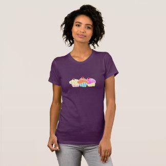 Camiseta T de 3 cupcakes