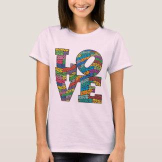 Camiseta T de Amor-n-JESUS