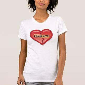Camiseta T de Ava 2008 da equipe de mulheres