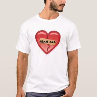 Camiseta T de Ava 2008 da equipe dos homens