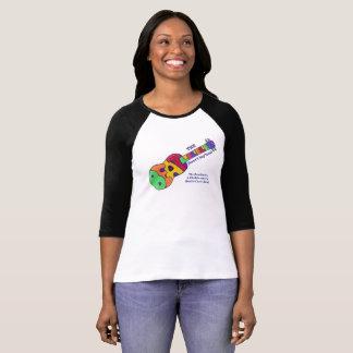 Camiseta T de Beatleleles com texto