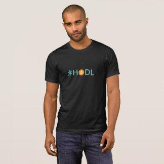 Camiseta T de Bitcoin Cryptocurrency do #HODL