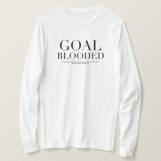 Camiseta T de Blooded do objetivo