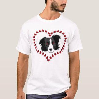 Camiseta T de border collie