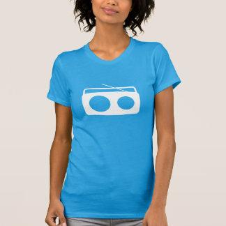 Camiseta T de BumeBox em Boombox (logotipo branco)
