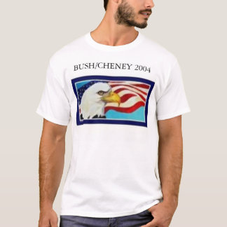 Camiseta T de Bush/Cheney