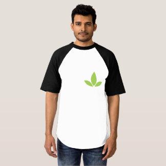 Camiseta T de canto do logotipo de Cannatopia do basebol do