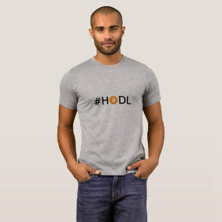 Camiseta T de Cryptocurrency do #HODL