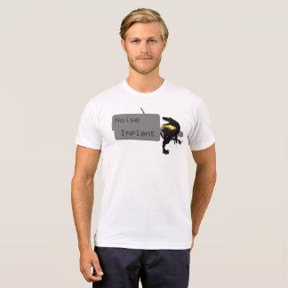 Camiseta T de Dino do implante do ruído