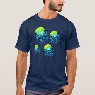 Camiseta T de flutuação das geléias das medusa