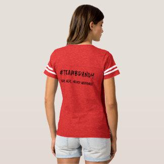 Camiseta T de futebol da aguardente da equipe - Nope!