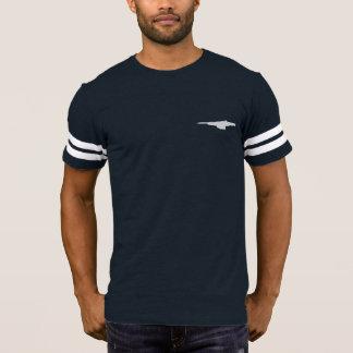 Camiseta T de futebol da estação de HEDWAY