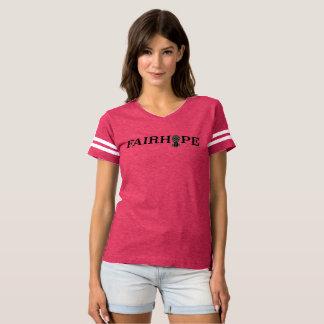Camiseta T de futebol de Fairhope - abacaxi