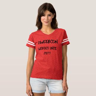 Camiseta T de futebol do coronel Dente da equipe